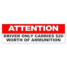NRA Bumper Bumper Sticker