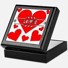 Deco Love Hearts Keepsake Box