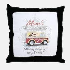 MM Mom's Milk Express Throw Pillow