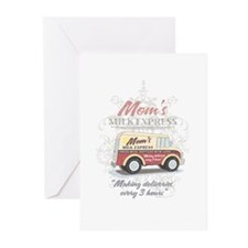 MM Mom's Milk Express Greeting Cards (Pk of 10
