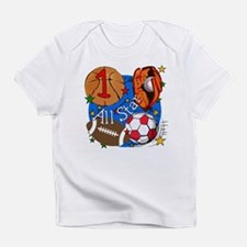 Funny Happy 1st birthday Infant T-Shirt