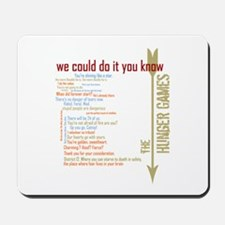 we could do it you know Mousepad