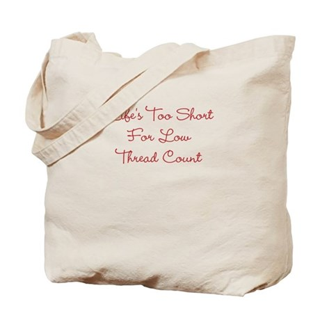 Low Thread Count Tote Bag