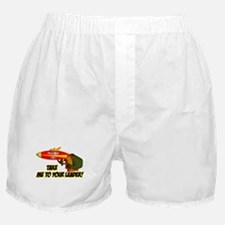 Take Me To Your Leader Boxer Shorts