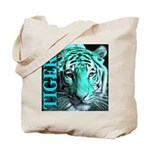 Tigers Exotic Jade Moonlight Tote Bag