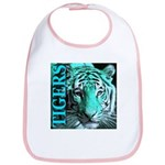 Tigers Exotic Jade Moonlight Bib