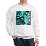 Tigers Exotic Jade Moonlight Sweatshirt