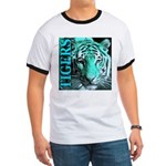 Tigers Exotic Jade Moonlight Ringer T