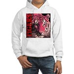 Tigers Passionate Red Hooded Sweatshirt