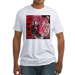 Tigers Passionate Red Fitted T-Shirt