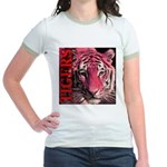 Tigers Passionate Red Jr. Ringer T-Shirt