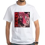 Tigers Passionate Red White T-Shirt