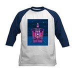 Knights & Princess on Ship Kids Baseball Jerse