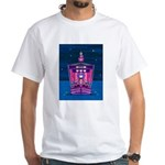 Knights & Princess on Ship White T-Shirt