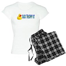 DUCKING TRISOMY 18 Pajamas