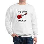 My Uncle Rocks! (guitar) Sweatshirt