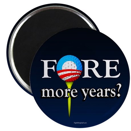 """FORE More Years? 2.25"""" Magnet (10 pack)"""
