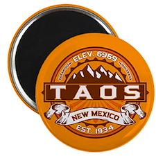 Taos Tangerine Magnet