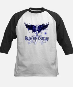 Celtic Cross with Wings Blue Tee