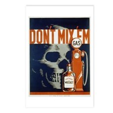 Don't Mix 'Em WPA Poster Postcards (Package of 8)