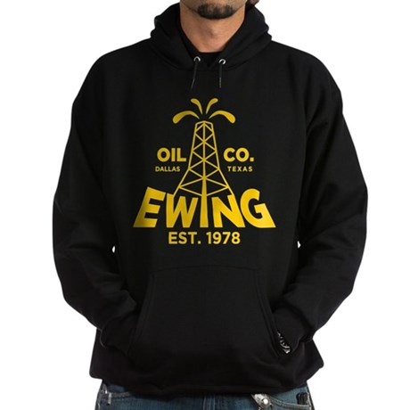 Dallas Retro Ewing Oil Hoodie (dark)