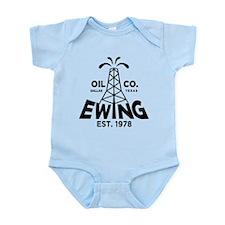 Dallas Retro Ewing Oil Infant Bodysuit