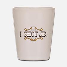 Dallas TV Shot Glass