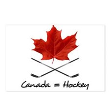 Canada. Hockey. Postcards (Package of 8)
