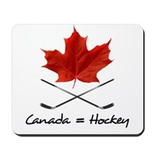 Canada. Hockey. Mousepad