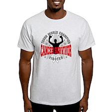 Retinoblastoma Tough Men Survivor T-Shirt