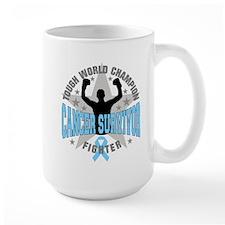 Prostate Cancer Tough Men Survivor Mug