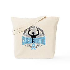 Prostate Cancer Tough Men Survivor Tote Bag