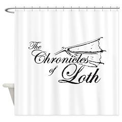 Loth Logo Shower Curtain