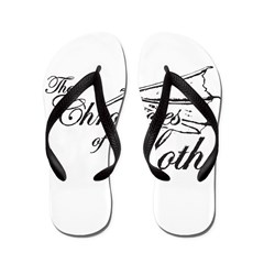 Loth Logo Flip Flops