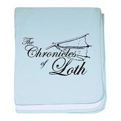 Loth Logo baby blanket