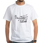 Loth Logo White T-Shirt