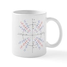 unit circle funny math geek Mug