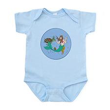Mermaid And Friends Infant Bodysuit