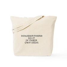 Homebirth Tote Bag