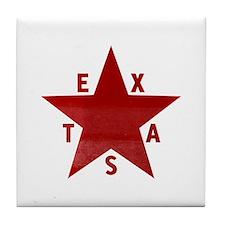 Cute Amarillo texas Tile Coaster