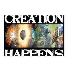 Unique God evolution Postcards (Package of 8)