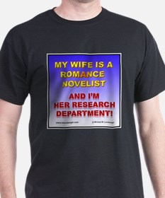 Support Your Wife Black T-Shirt