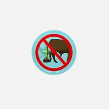 No Bull @#$% Zone Mini Button