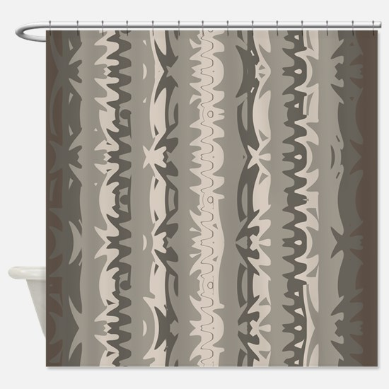 brown and grey shower curtain. Brown and Grey Shower Curtain 01004 00006 Gray Tan Charcoal Cream Colors Curtains  CafePress