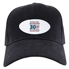 Cool 30 year old birthday designs Baseball Hat