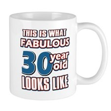 Cool 30 year old birthday designs Mug