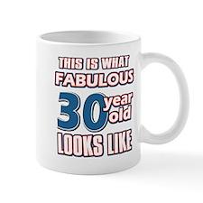 Cool 30 year old birthday designs Mug