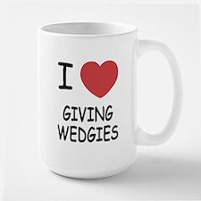 I heart giving wedgies Mug