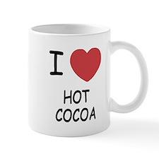 I heart hot cocoa Mug
