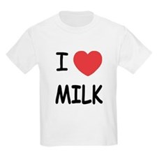 I heart milk T-Shirt